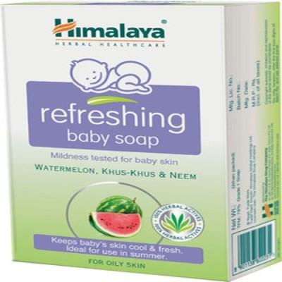 Himalaya Baby Refreshing Soap-125g(Pack Of-2)