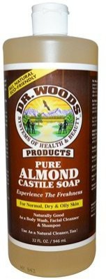 Dr. Woods Pure Castile Soap - Almond