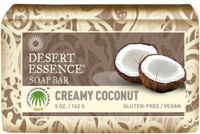 Desert Essence Bar Soap Creamy Coconut