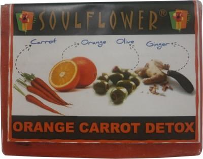 Soulflower Orange Carrot Detox Soap