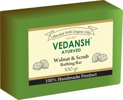 Vedansh Walnut & Scrub Bathing Bar