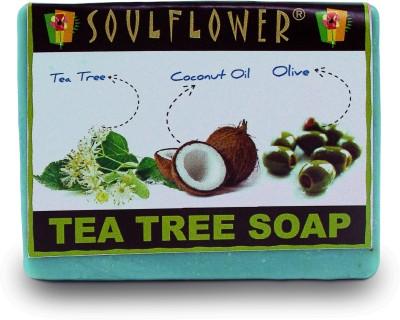 Soulflower Tea Tree Soap(150 g)