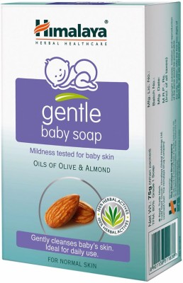 Himalaya Gentle Baby Soap 125 Gm - Pack of 10