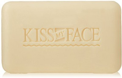 Kiss My Face Pure Coconut Milk Soap Bar with Coconut Oil and Lime Peel