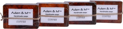 Aden & M Coffee Soap - Pack of 4