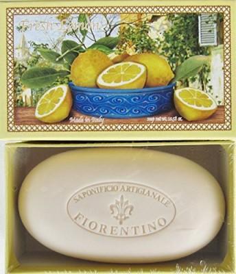 Saponificio Artigianale Fiorentino Limone Single Soap Bar From Italy