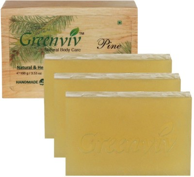 Greenviv Natural Pine Soap