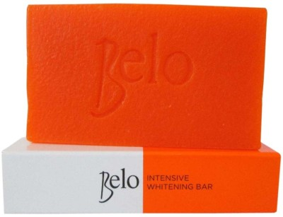 Belo Intensive Whitening Soap With Kojic Acid And Tranexamic Acid For Dark Spots 3Pc