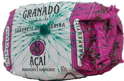 Granado Linha Terrapeutics - Sabonetes em Barra Acai - ( Terrapeutics Collection - Acai Bar Soaps)