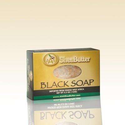 AAA Shea Butter Black Soap Bar