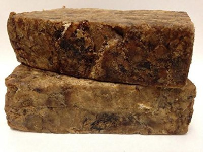 Mother Ocean Naturals True Raw African Black Soap Imported from Ghana Africa 100% Pure African Black Soap