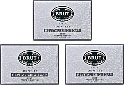Brut Identity Revitalizing Soap ( Pack of 3)
