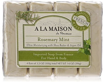 A La Maison Soap Bars Value Pack 4 Count