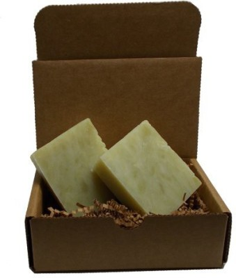 YANKEETRADERS Woodland Pine Soap - Handmade All Natural Organic - Vegan / 2 Bars