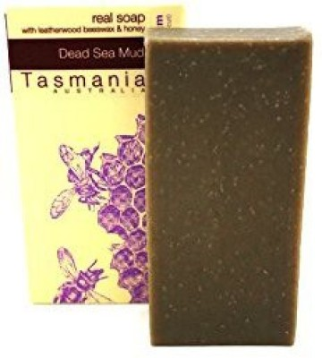 Beauty and the Bees Dead Sea Mud Soap with Leatherwood Honey | All Natural | No Synthetic Chemicals | Deep Cleansing | Handmade in Tasmania Australia