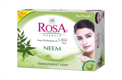 Rosa Herbals Neem Soap ( Set of 4 pcs )