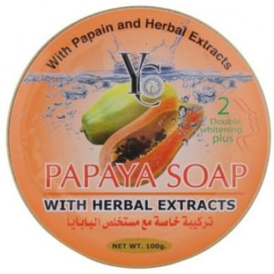 YC Papaya Soap With Herbal Extract