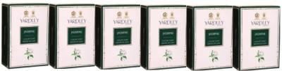 Yardley London Jasmine Luxury Soap - Pack of 6(600 g)