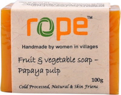 Rope International Fuit and Vegetable soap-Papaya Fruit Soap