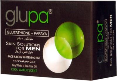 Glupa Papaya & Glutathione Soap Skin Glowing & Fairness Soap For Men(135 g)