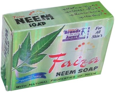 Fazia Herbal Neem Soap For All Round Skin Protection 1 Pc