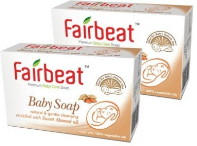 Fairbeat Baby Soap- Enriched With Sweet Almond Oil