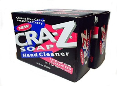 Cra-Z Soap Heavy Duty Hand Cleaner Powerful All Purpose Soap BarsTwin-Pack(300 g)