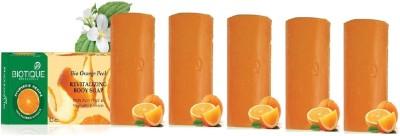 Biotique Orange Peel Soap (Set of 5)