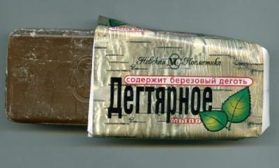 Tar soap Russian Birch Coal Tar Ecological Solid Soap Against Dermatitis Seborrhoea Acne Skin Diseases
