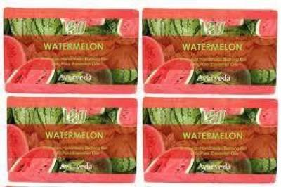 Lass Naturals Pack of 4 Lass Naturals LASS WATERMELON SOAPS
