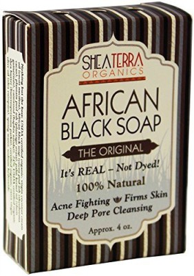 Shea Terra Organics Shea Terra Authentic African Black Soap