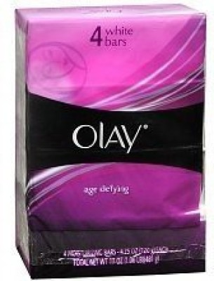 Olay Body Age Defying Moisturizing White Bars Qty:4 Bars