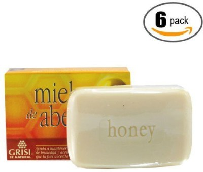 Kodiake 6pk - Honey Bee Soap - Jabon Miel de Abeja - Grisi (6 Units)