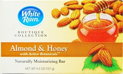White Rain Boutique Collection Almond & Honey Bar Soap - Pack of 2