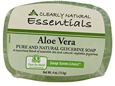 Clearly Natural Glycerine Soap Aloe Vera (8 pack)