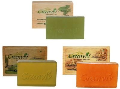 Greenviv Skin Purifying Bath Soap Combo