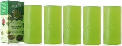 Biotique Basil & Parsley Soap (Set of 5)