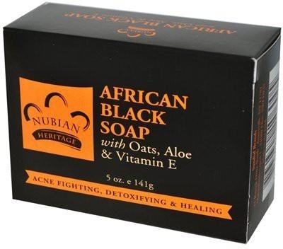 Nubian Heritage : African Black Bar Soap