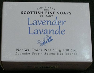 The Scottish Fine Soaps Company Lavender Single Soap Bar