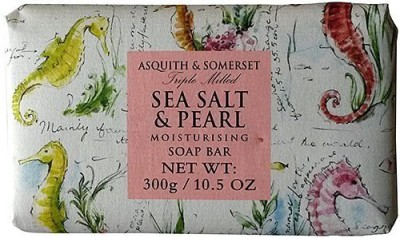 Asquith & Somerset Sea Salt & Pearl Single Soap Bar From England