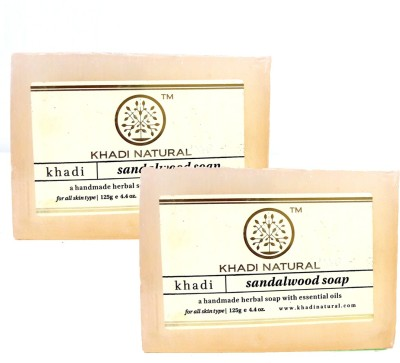 Khadi Natural Natural Handmade Soaps - Pack of 2