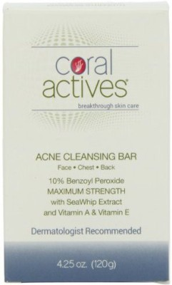 Coralactives Acne Cleansing Bar