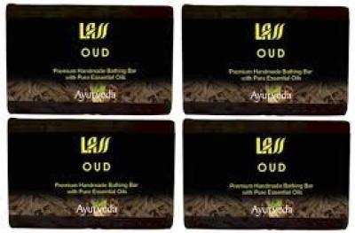 Lass Naturals Pack of 4 Lass Naturals LASS OUD SOAPS