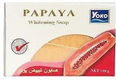 Yoko Papaya Whitening Soap