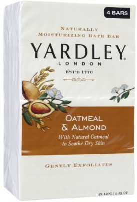 Yardley Naturally Moisturizing Bar Soap Oatmeal & Almond