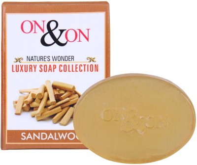 On & On Natures Luxury Sandalwood Soap