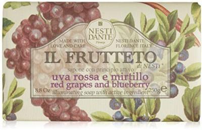 Nesti Dante Il Frutteto Red Grapes and Blueberry Soap