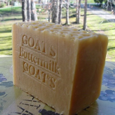 Natural Handcrafted Soap LLC Buttermilk & Goat Milk with Oatmeal and Honey (Handmade Soap)