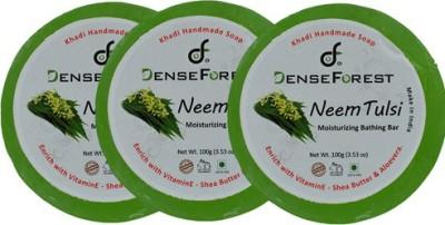 Dense Forest Khadi Neem Tulsi Soap (Pack of 3)