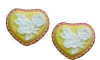 Nakoda Feelings Handcrafted Roses in Heart Bathing Soap(200 g)